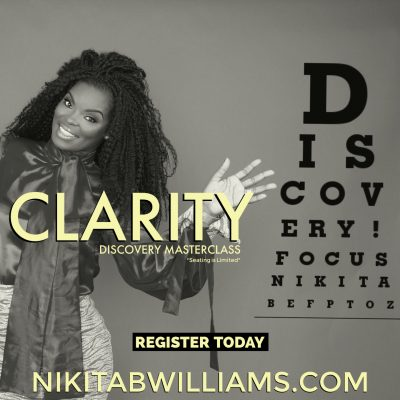 MASTERCLASS: IT'S DISCOVERY TIME, LEARNING TO FOCUS & GAIN CLARITY